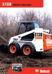 Bobcat S130 - Devano Verhuur