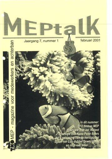 MEPtalk 2001-1 - eTNOs
