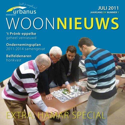 Klik hier om het woonnieuws van juni 2011 te lezen - ws urbanus