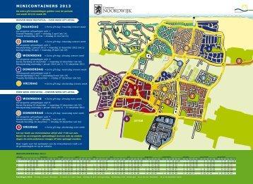 Afvalkalender 2013 - Gemeente Noordwijk