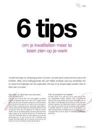 6 tips om je kwaliteiten meer te laten zien op je werk - HALMANS ...