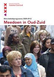 Wmo-beleidsprogramma 2009-2012 - Werkgroep toegankelijkheid ...