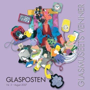 00172 Glaspost_3.indd - Glasmuseets Venner