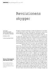 Revolutionens skygger - Historie-nu.dk