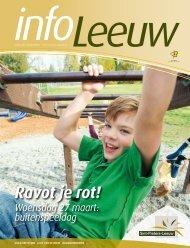 infoLeeuw maart 2013 - Gemeente Sint-Pieters-Leeuw