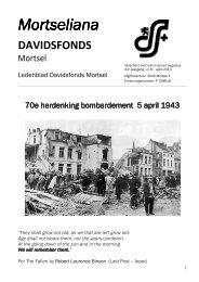 Mortsel 5 april 1943 - Davidsfonds