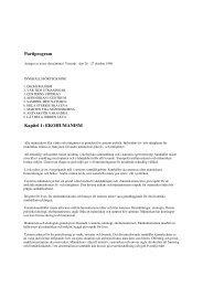 Partiprogram Kapitel 1: EKOHUMANISM - Centerpartiet