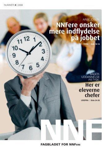 NNFere ønsker mere indflydelse på jobbet