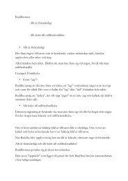 Buddhismen -Allt är föränderligt -Allt leder till ... - Religionskunskap