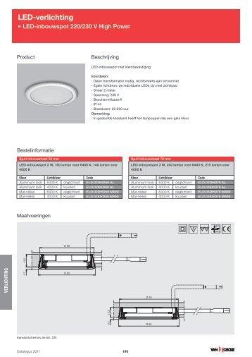LED-verlichting - Van Hoecke