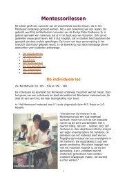 Montessorilessen - kelpin.nl