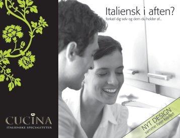 brochure - Cucina