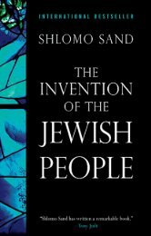 Shlomo Sand, The Invention of the Jewish People - Rafapal