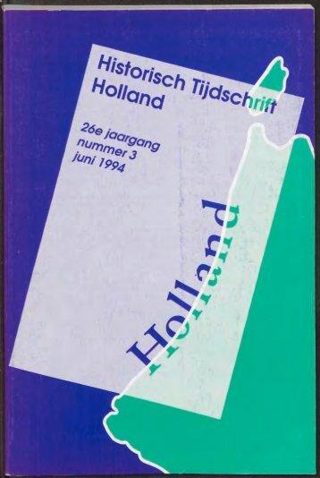 Untitled - Holland Historisch Tijdschrift