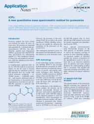 Application Notes ICPL: A new quantitative mass ... - Bruker Daltonics