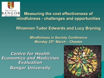 Measuring the cost effectiveness of mindfulness - CMRP ...