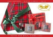 geschenken - gifts | 2 0 1 2 - Huize van Wely