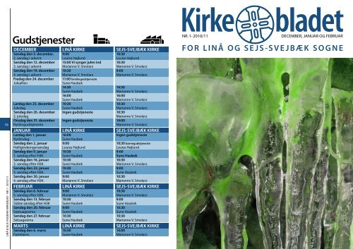 Kirkebladet 2011 nr. 1 - Linå kirke