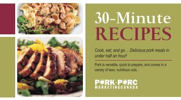30 Minute Recipes - The Whole Pig
