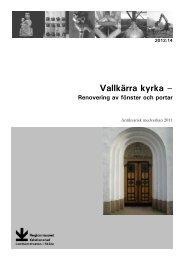 Vallkärra kyrka - Regionmuseet Kristianstad