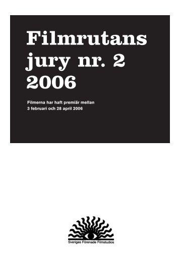 Filmrutans jury nr. 2 2006