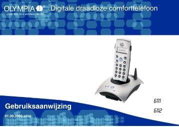 Bediening telefoon - Viva