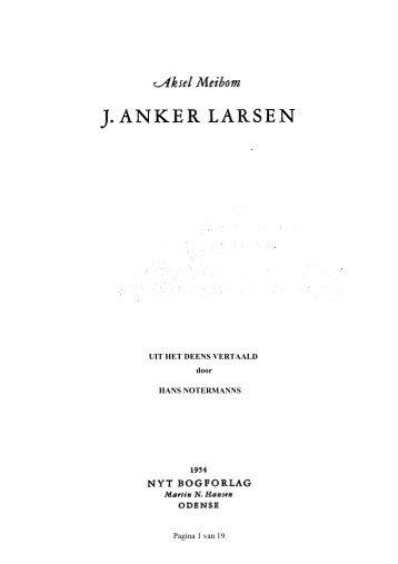 Artikel - Anker Larsen