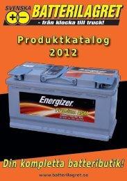 Din kompletta batteributik! - Batterilagret