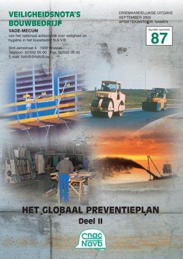 HET GLOBAAL PREVENTIEPLAN - FFC