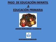 PASO DE EDUCACIÓN INFANTIL A ... - calasancias - vigo