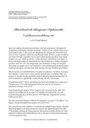 Skåneland och vikingarna i Sydamerika - Stiftelsen Skånsk Framtid