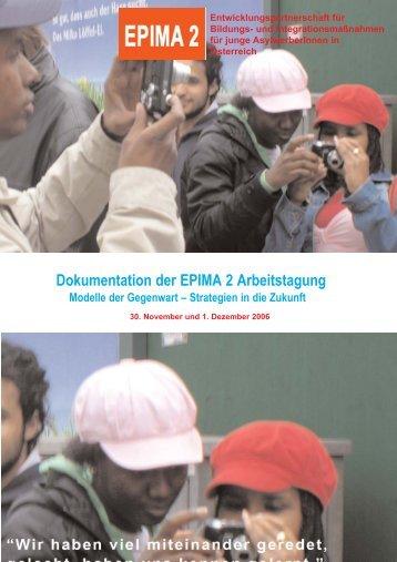 Dokumentation der EPIMA 2 Arbeitstagung - Integrationshaus