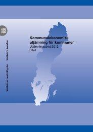 Kommunalekonomisk utjämning för kommuner (pdf)