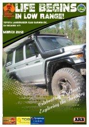 March - Toyota Landcruiser Club Darwin
