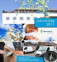 Jaarverslag 2011 - Mercatus