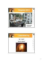 Præsentation - V Løwener - Laserskæring - Industriens Uddannelser