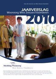 publieksjaarverslag 2010 - Stichting Woonzorg West Zeeuws ...