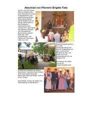 Abschied von Pfarrerin Brigitte Fietz - Evangelische ...