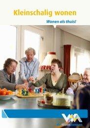 download hier de brochure kleinschalig wonen, inclusief ... - Kristal