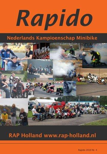 RAPIDO 2010 Nr. 4 - RAP-Holland