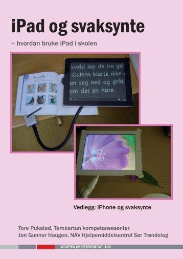 iPad og svaksynte - Statped