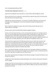 Vi skal ikke ændre lovgivning for enhver pris..., leder, februar 2000