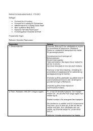 Referat fra bestyrelsesmøde d. 17/5-2011 Deltager: • Formand Kurt ...