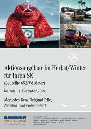 Aktionsangebote im Herbst/Winter für Ihren SK - Beresa Gmbh & Co ...