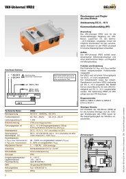 VAV-Universal VRD2-L - Belimo