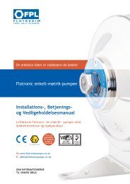 F Serie - Flotronic Pumps