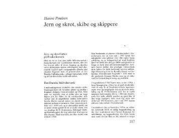 Hanne Poulsen: Jern- og skrot, skibe og skippere, s. 117-142