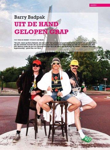 UIT DE HAND GELOPEN GRAP - LOS