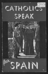Spanish Catholics Speak - Digital Repository Services