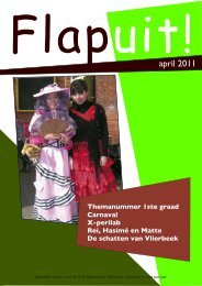 Flapuit!april 201 1 - Vrije Basisschool Vlierbeek